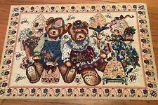 Teddy Bear Floor Mat Rug 68x46cm or 27x18""