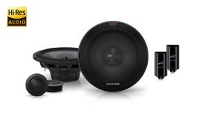 Alpine R-S65C.2 R-Series 6-1/2″ Component 2-Way Speakers (AU WARRANTY)