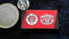 FC ST. PAULI 1910 Pin Badge Sponsor Jack Daniel´s Old No. 7 Whiskey Fussball