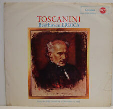 "TOSCANINI BEETHOVEN SYMPHONIE 3 « HÉROÏQUE » FROM THE NBC BROADCAST 1953 12"" LP"