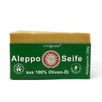 (2,68 EUR/100 g) Finigrana Aleppo Seife 100% Olivenöl 200 g