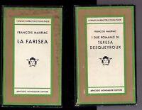 francois mauriac - i due romanzi di teresa desqueyroux - la farisea - 14 euro