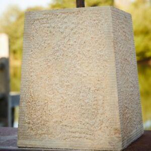 125/150mm Sandstone Tapered Staddle Stone - Pad Settle Framed Building Support
