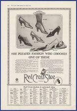 Vintage 1916 RED CROSS SHOE Women's Fashion Shoes Cincinnati OH Print Ad