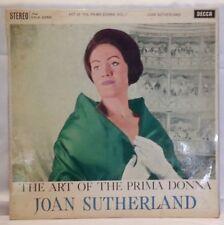 JOAN SUTHERLAND - vintage vinyl LP - The Art of the Prima Donna Volume 1