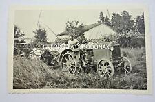 VERA FOTO AGRICOLTURA CONTADINO TRENTO TRATTORE ANTICO 1935 ANTIQUE TRACTOR