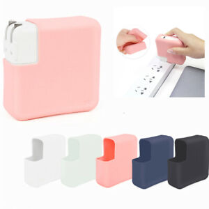 Charger Organizer Adapter Protective Case Silicone Cover for MacBook Accessories