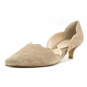 Adrienne Vittadini Womens SERENE Closed Toe Classic Pumps, Tan, Size 9.0 zZo0