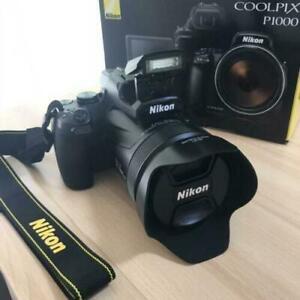 Nikon Coolpix P1000 16MP 4K Digital Camera with 125x Optical Zoom WiFi / NFC