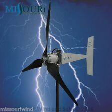 "Raptor G5™  3 blade 12/24 volt 2000 watt max wind turbine generator 38"" blades"