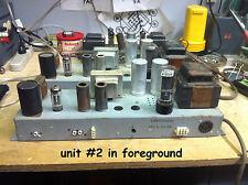 Hammond AO-43 6BQ5 EL84 mono tube amp