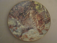 JAGUAR Collector plate LET US SURVIVE Donald Grant SOVEREIGNS OF THE WILD Cat