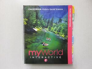 myWorld Interactive Grade 2 CAHistory-Social Science Teacher's Ed. I0328951722
