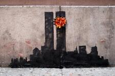 Banksy Twin Towers Tribute - Poster 24x36 inch