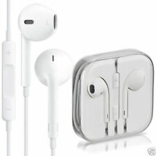 Genuine iPhone di Apple Cuffie Auricolari Bianco 5 S 5 C se 6 6 S Vivavoce Mic