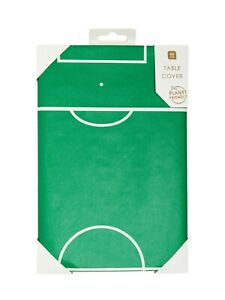 Party Champions Football Pitch Green Paper Birthday Party Table Cover