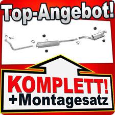Auspuff FIAT SCUDO I (220) 1.9 TD SWB-Kurz +Rohr Vorne Auspuffanlage T77C