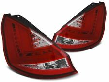 LED REAR TAIL LIGHTS LDFO49 FORD FIESTA HATCHBACK 2012 2013 2014 2015 RED WHITE