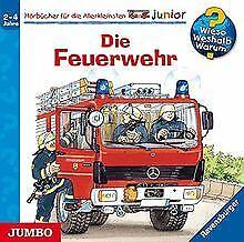 Die Feuerwehr! von Wieso? Weshalb? Warum?, Junior | CD | Zustand akzeptabel