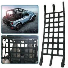 Rete Visiera Auto Tetto Riposo Amaca Fermabagagli per Jeep Wrangler Tj JK Jl 97