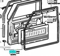 TOYOTA 67610-90304 Front Door Trim Board SUB ASSY RH Genuine Parts LAND CRUISER