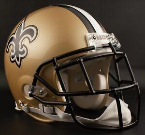 REGGIE BUSH Edition NEW ORLEANS SAINTS Riddell AUTHENTIC Football Helmet NFL