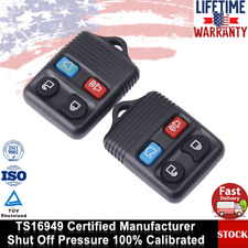 2 x 4Button Keyless Entry Remote Control Car Key Fob For Ford 06-11 Crown Victor
