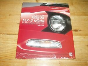 MX-5 Miata 1988-1997 by Brian Long. Was £30.00.  Unopened in Shrinkwrapped