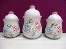 série de 3 pots à épices en céramique / NEUF