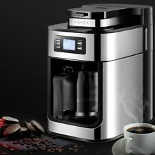 Tea Coffee Maker Machine Fully-Automatic Electric Kitchen Appliance 220V 1200ML