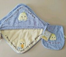 Bunnies by the Bay Yellow EMMIT Duck 3pc security lovey blanket Set cloth D