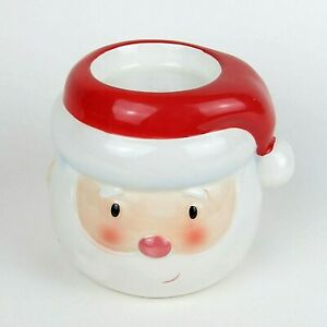Santa Claus Ceramic Candle / Oil / Wax Warmer Holiday Decor Christmas