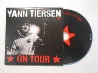 YANN TIERSEN : ON TOUR ♦ CD ALBUM PORT GRATUIT ♦