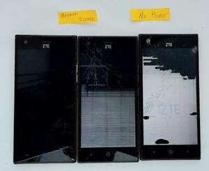 ZTE Warp Elite N9518 Smartphone as is parts lot of 3 #1
