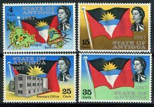 Antigua Scott 186-189 QEII & Antigua's Independence MNH 1967
