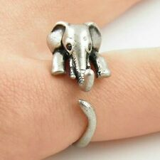 Adjustable Elephant Ring For Her Anello Elefante Regolabile Per Lei