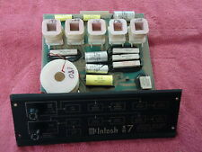 ORIGINAL MCINTOSH XR 7  CROSSOVER CIRCUIT BOARD AND FRONT PANEL