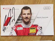Une Incroyable Autographe Carte * Martin Tomczyk * Audi Sport Team DTM Saison 2011