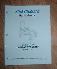 CUB CADET 7254 TRACTOR & ENGINE ILLUSTRATED PARTS LIST