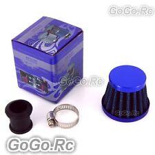 15 mm BLUE CONE MINI OIL AIR INTAKE CRANKCASE VENT VALVE COVER BREATHER FILTER