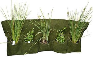 Pflanztasche aus Ufermatte Kokosmatte Jute Randestaltung Teichpflanzen Angebot