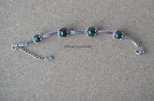 Tibetan Silver Malachite Bracelet