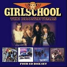 Girlschool - The Bronze Years 4CD Boxset
