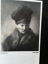 Cartolina scritta da pittore Pietro Annigoni