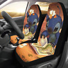 Universal Fit Lilo and Stitch Compatible Car Seat Cover Set of 2