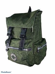 KIPLING Private  Transport 18 X 18 military green large back pack