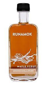 Runamok Maple - Cinnamon + Vanilla Infused Maple Syrup - Vermont Organic