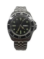 Vintage Submariner Style Stainless Steel Wrist Watch (New!)