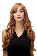Women's Wig Strawberry Blond Curles Wavy Long Side Part approx. 70 cm 9204s-27