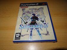 NUOVO SIGILLATO in fabbrica SUIKODEN IV 4 PLAYSTATION 2 PS2 SONY